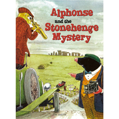 Alphonse and the Stonehenge Mystery cover