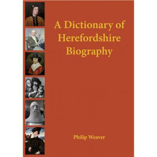 Dictionary of Herefordshire Biography cover