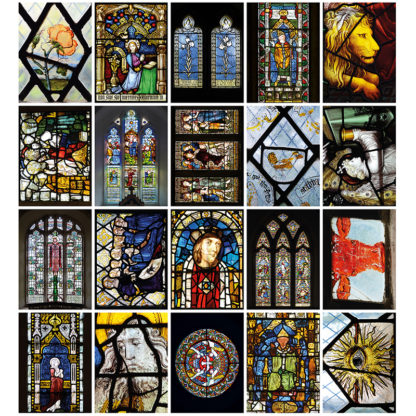 Oxfordshire Stained Glass cards