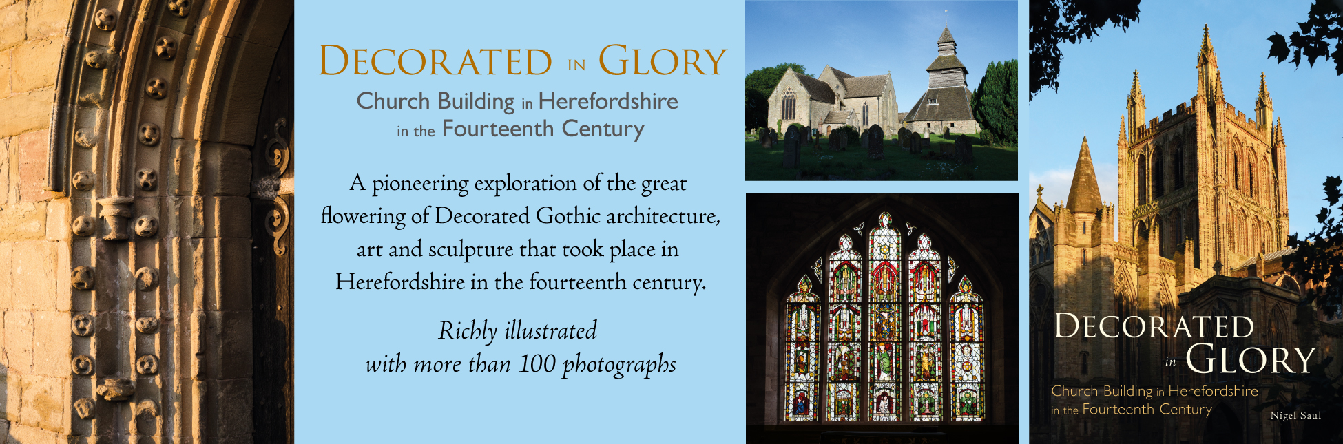 Decorated in Glory banner