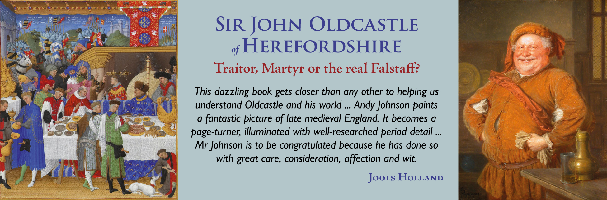 SIr John Oldcastle of Herefordshire banner