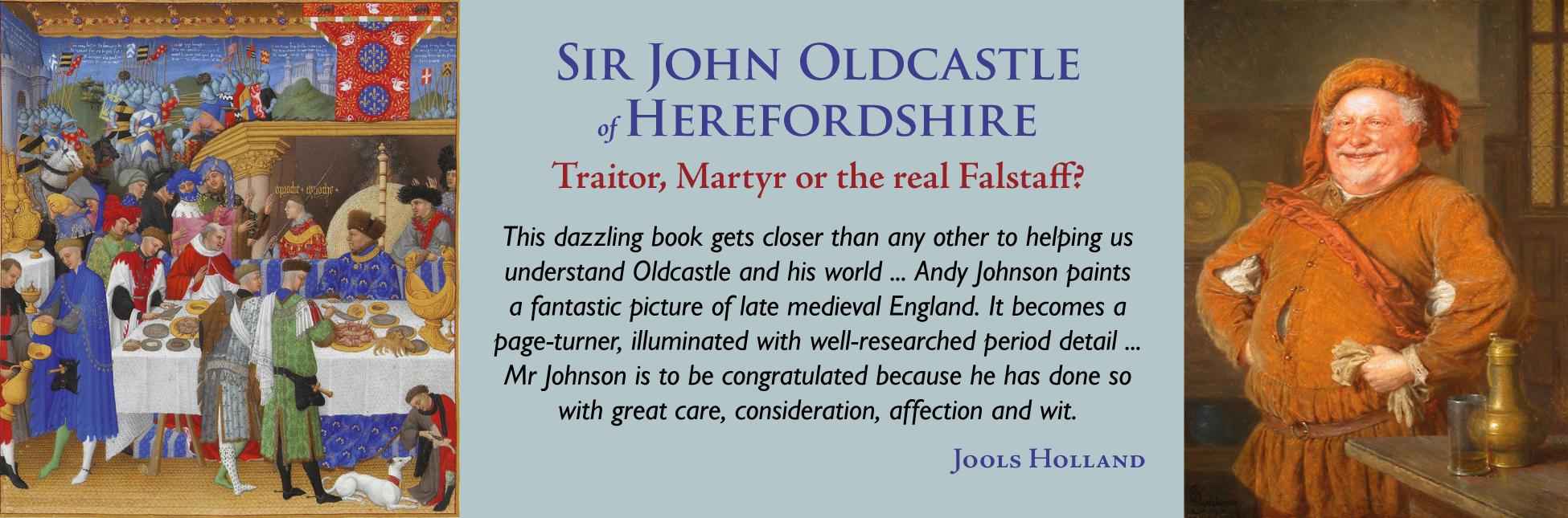 SIr John Oldcastle of Herefordshire banner