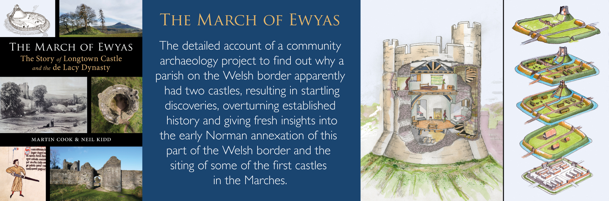 March of Ewyas banner